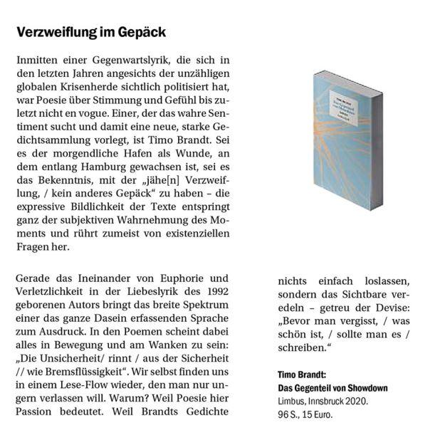 Besprechung in der Berliner Zeitung